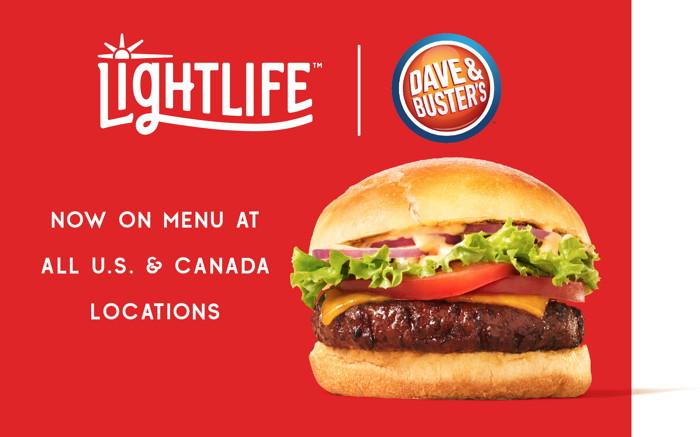 Lightlife® Plant-Based Burger