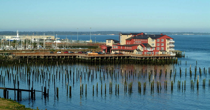Cannery Pier Hotel - Astoria, OR - Exterior