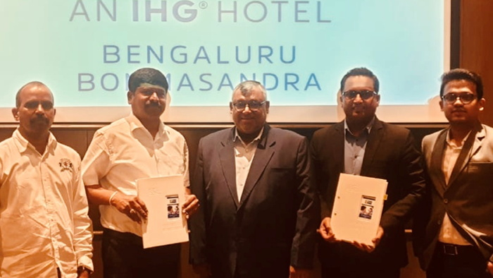Image from Holiday Inn Express Bengaluru Bommasandra signing ceremony