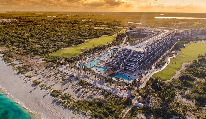 ESTUDIO Playa Mujeres - Aerial view