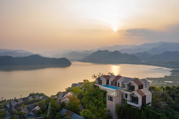 Conrad Hangzhou Tonglu - Aerial view