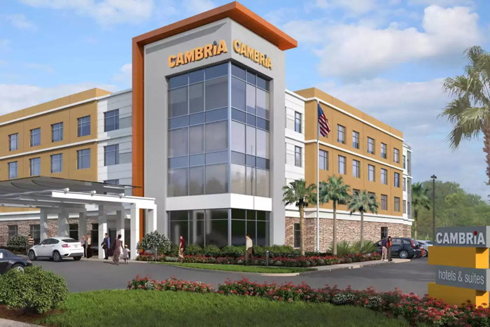 Rendering of the Cambria Hotel Richardson - Dallas