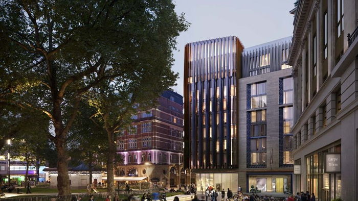 Rendering of the The Londoner in Leicester Square