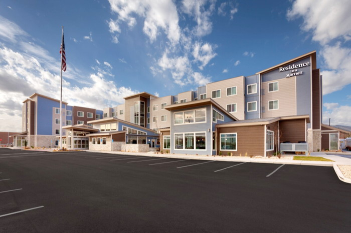 Dual-Branded Residence Inn and SpringHill Suites Hotel in Maple Grove, Minnesota - Exterior