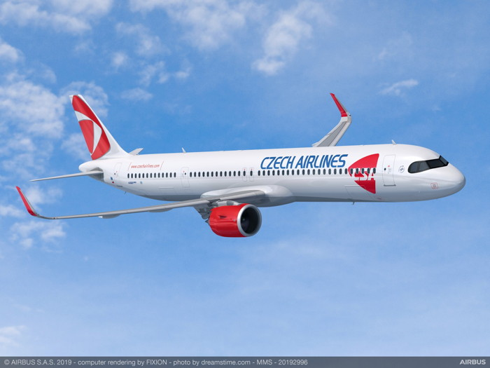 Czech Airlines A320neo