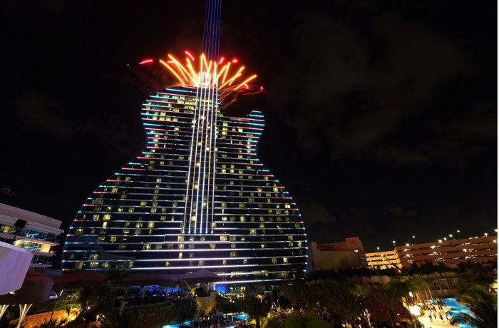 Guitar Hotel at Seminole Hard Rock Hotel & Casino Hollywood - Exterior