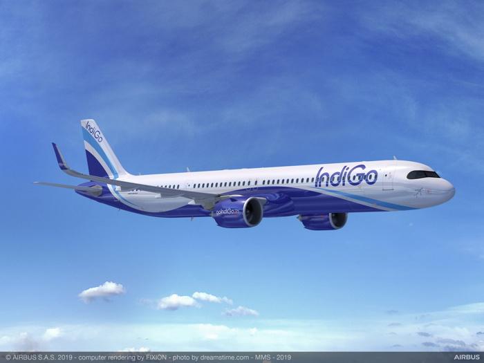 A IndiGo A320neo Aircraft