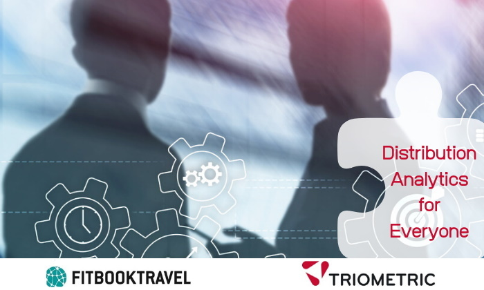 Fitbooktravel and Triometric logos
