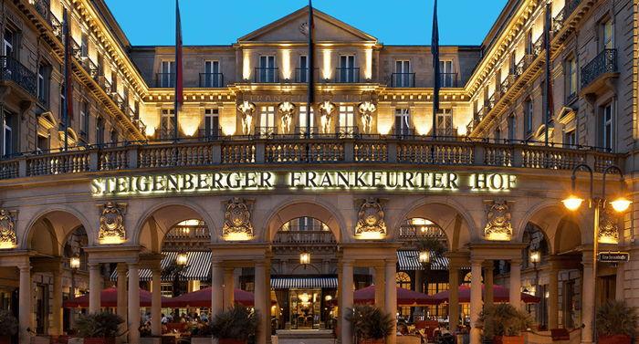 Steigenberger Frankfurter Hof - Exterior