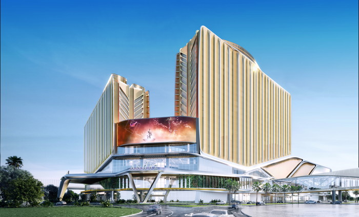Rendering of the Andaz Macau Hotel