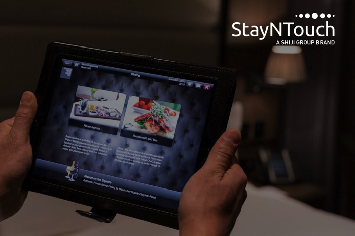 StayNTouch on a tablet