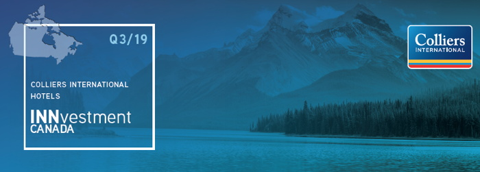 Colliers International Hotel INNvestment Canada Report Q3 2019 - Cover