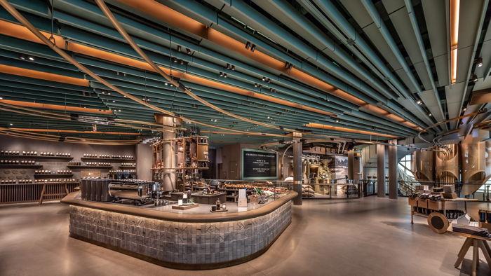 Starbucks Reserve Roastery in Chicago