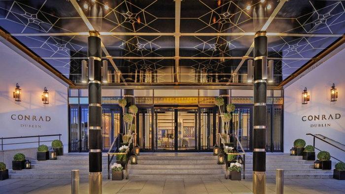 Conrad Dublin Hotel - Entrance