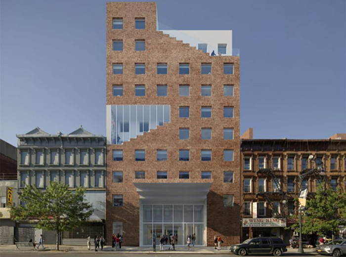 Rendering of the New Co-living Residential and Hotel Development Announced for Bedford-Stuyvesant, Brooklyn