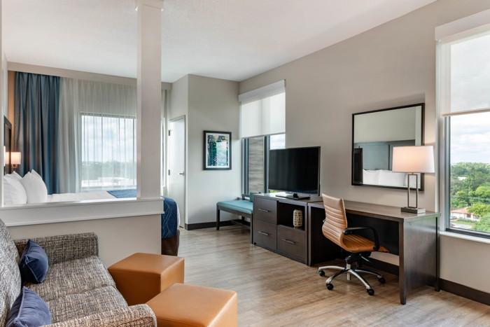 Guestroom at the Comfort Inn & Suites Miami International Airport