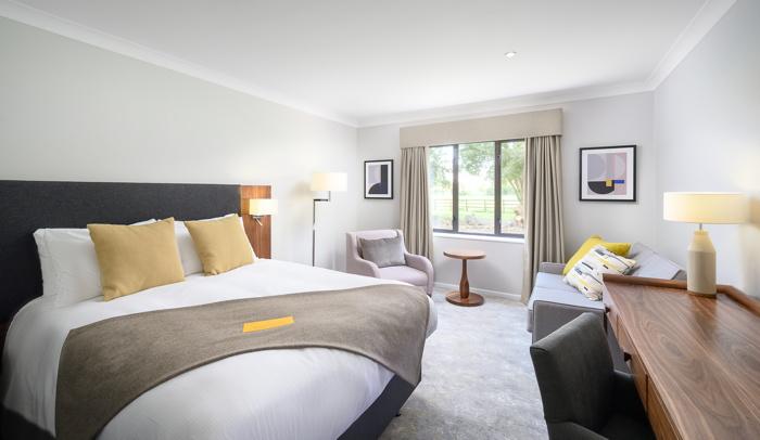 Guestroom at the voco Oxford Spires Hotel