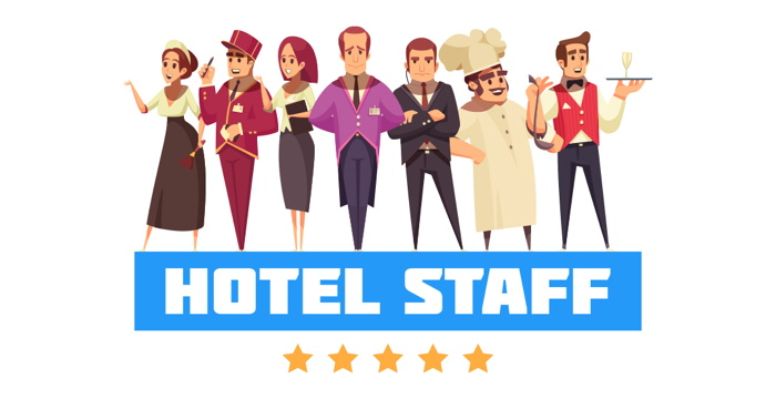 Hotel Staff - illustration