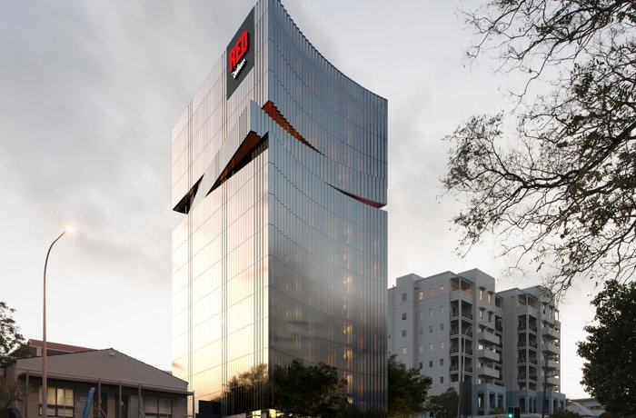 Rendering of the Radisson RED West Perth Hotel