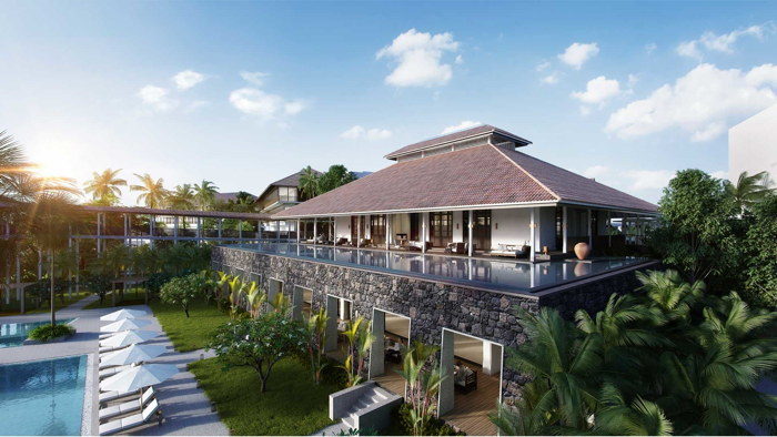 Anantara Desaru Coast Resort & Villas - Villas and pool