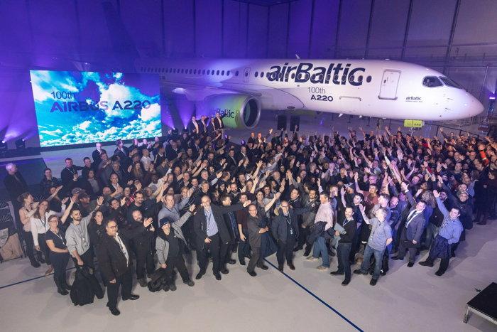 airBaltic A220 Aircraft