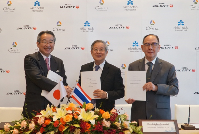 Image from Hotel JAL City Bangkok  signing ceremony