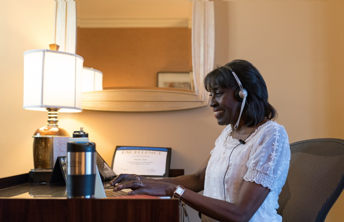 Hilton Reservation and Customer Care Specialist Phyllis Clark