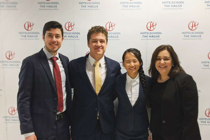 Hospitality Students from Houston, Texas USA Place Final Five in Global Challenge