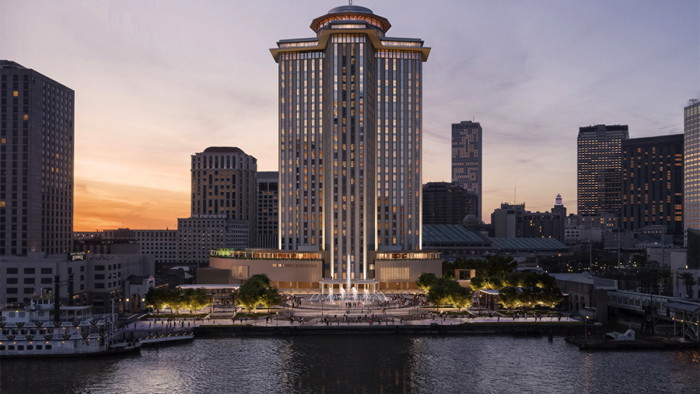 Rendering of the Four Seasons Hotel and Private Residences New Orleans