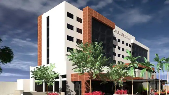 Rendering of the  DoubleTree by Hilton Celaya