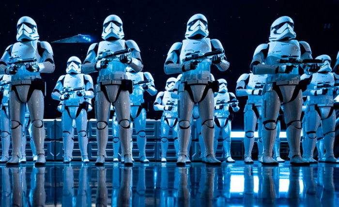 Stormtroopers from Star Wars: Rise of the Resistance Makes Galactic - Source Walt Disney World Resort