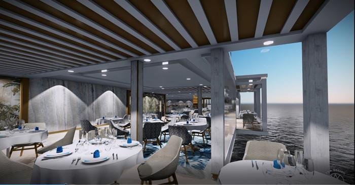 Seven Seas Splendor La Veranda at Setti Mari Alcove Seating