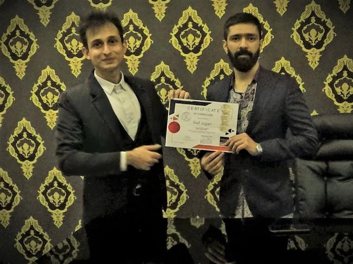 Saif Jugari with Mr. Sunian Yousuf (Managing Director – Four Apple)