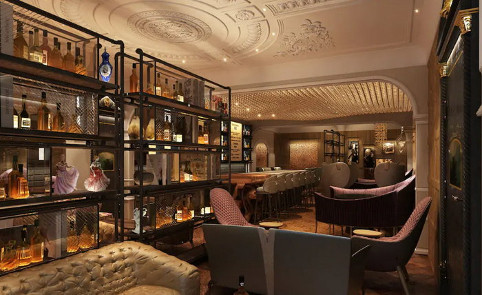 Bar at the Great Scotland Yard Hotel