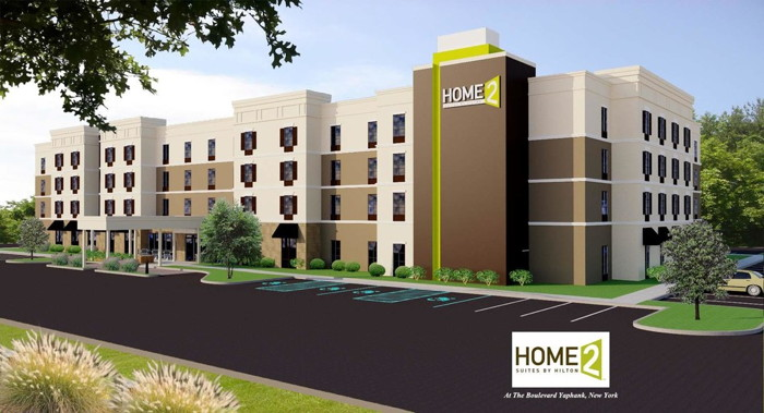 Rendering of Home2 Suites by Hilton Long Island Brookhaven