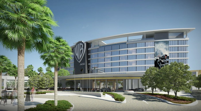 Rendering of the WB Abu Dhabi Hotel