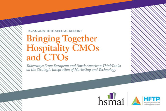 Report Cover - Bringing Together Hospitality CMOs and CTOs