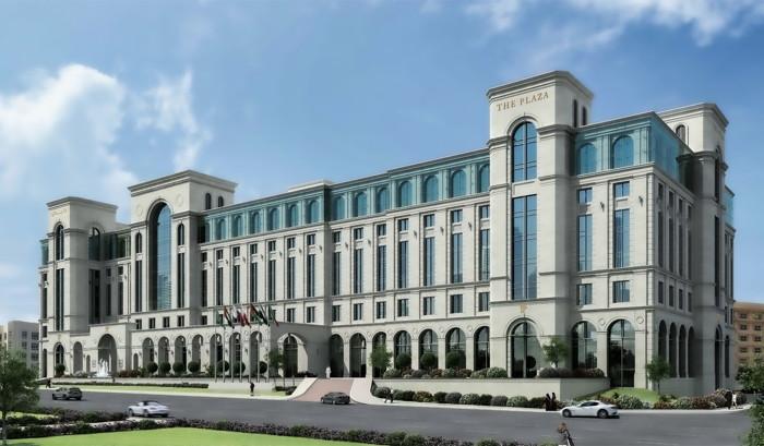 Rendering of the Plaza Doha Anantara Hotel & Suites