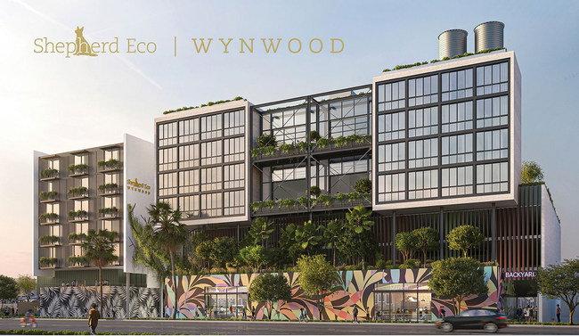 Rendering of the Shepherd Eco Wynwood