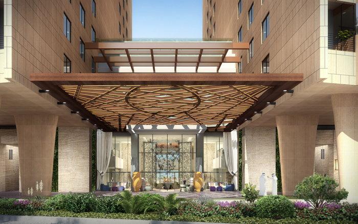 Andaz Dubai The Palm Hotel - Entrance