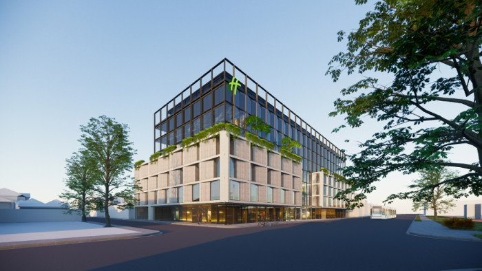 Rendering of the Holiday Inn Melbourne Richmond