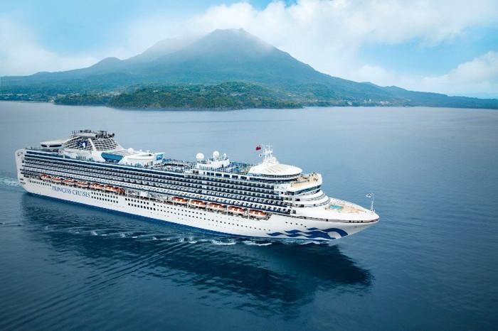 Princess Cruises Ship in Japan