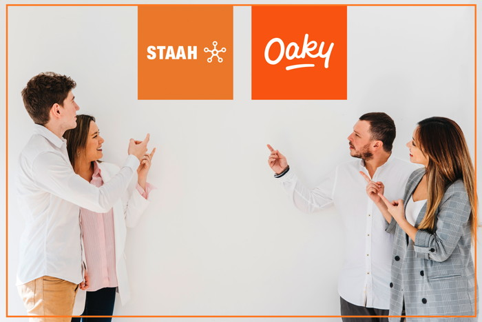 STAAH and Oaky logos