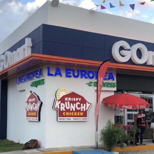 Krispy Krunchy Chicken in Mexico in Mérida, Yucatán