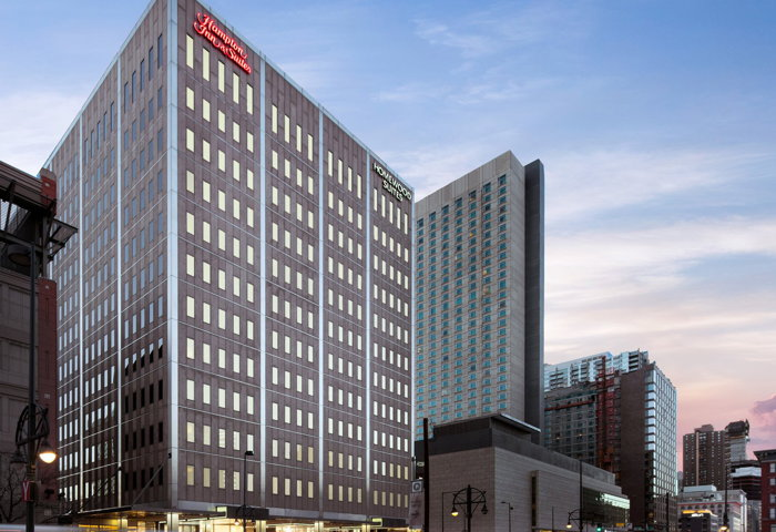 Hampton Inn & Suites Downtown Denver and Homewood Suites by Hilton Downtown Denver - Exterior