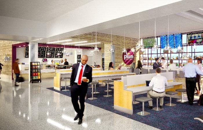 Plum Market concept at Dallas Fort Worth International Airport