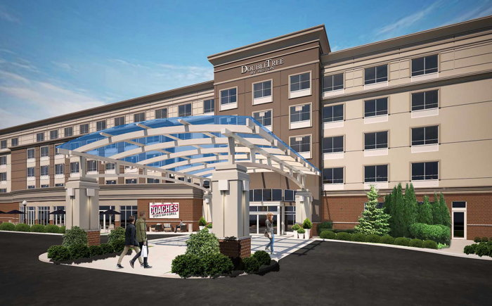 Rendering of the DoubleTree by Hilton Chicago Midway Airport