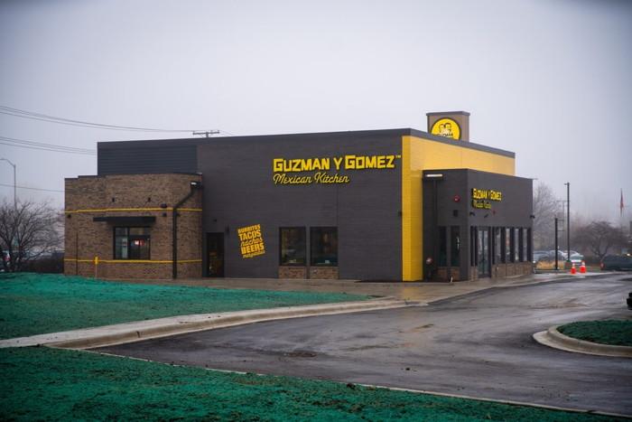 Guzman Y Gomez restaurant in Naperville