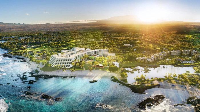 Mauna Lani Resort - Aerial view