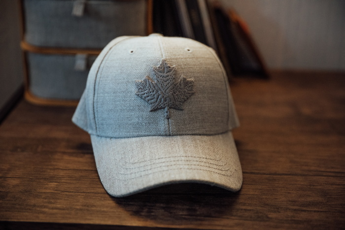 Hat with a Maple Leaf